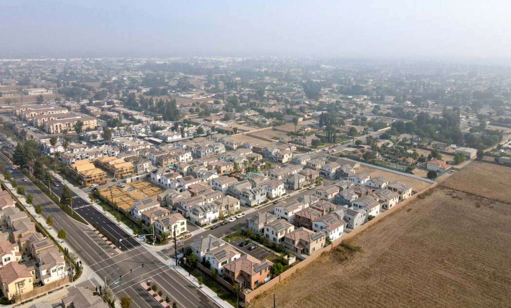 Villages at Central community aerial