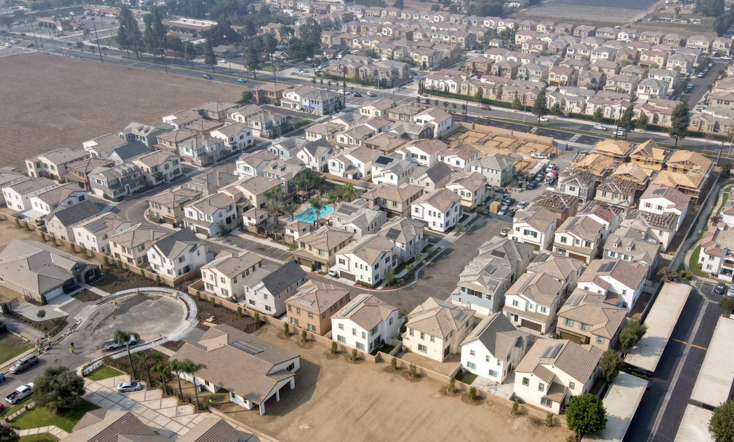 Villages at Central Community aerial close up