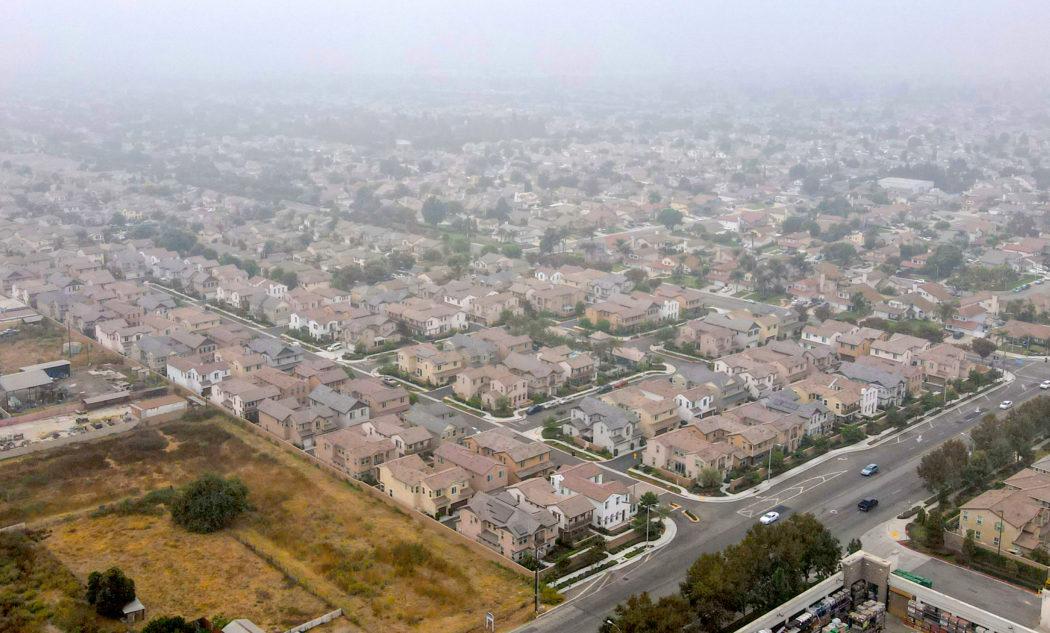 Fern and Riverside community Aerial