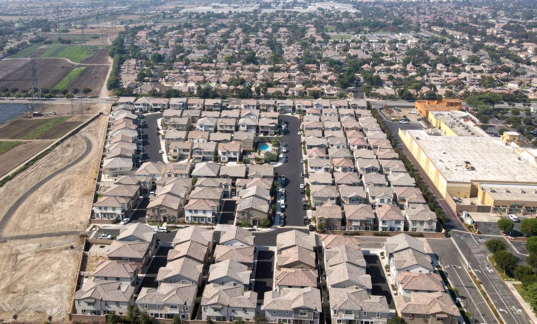Stonebrook community aerial close up
