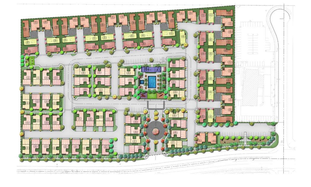 Chow community site plan