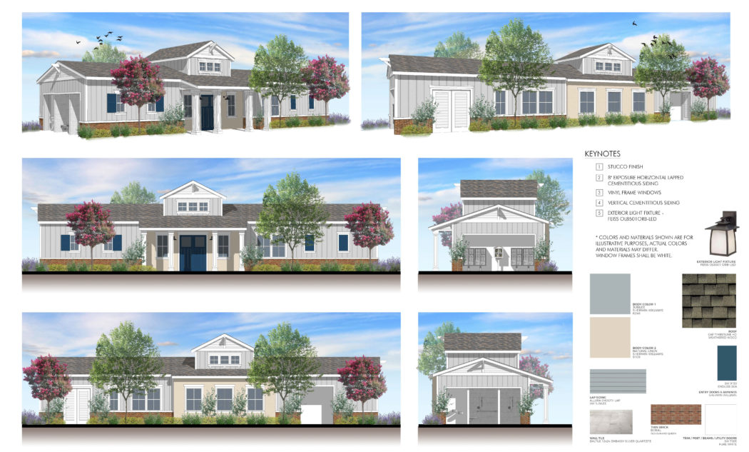 Chow Clubhouse Renderings